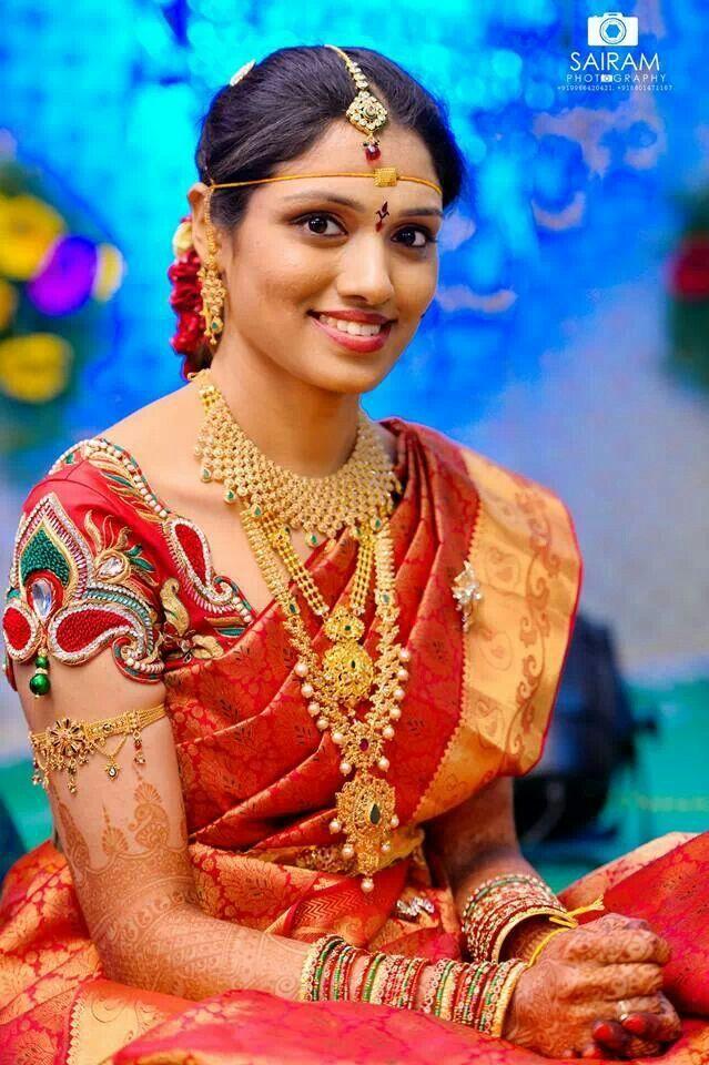27 best bridal jewellery images on Pinterest | Kerala bride, South ...