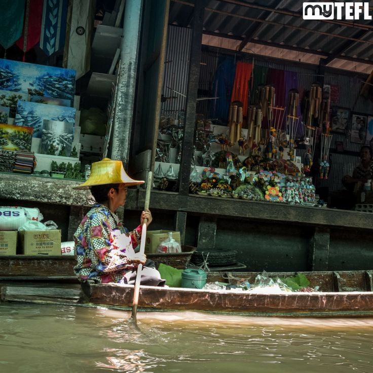 Floating markets are one of Southeast Asia's specialities; great places for spending all that hard-earned #TEFL dosh! #SoutheastAsia #Asia #makeadifference #teach #dream #qualify #school #EFL #EFLteachers #theworld #earth #goabroad #gapyear #getoutthere #explore #adventure #dosomething #getqualified #travel #traveling #backpacker