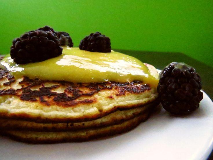 Pancakes au citron Meyer