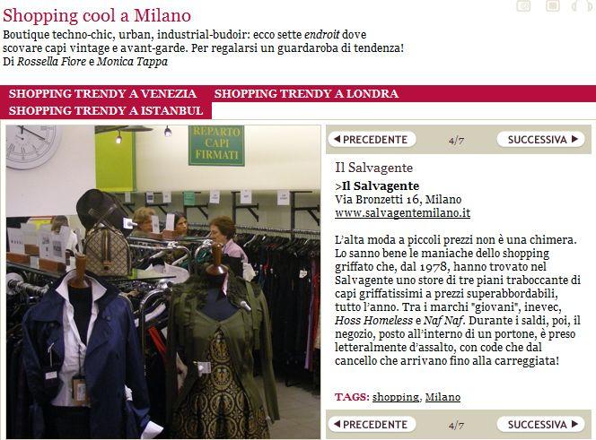 Dove fare #shopping cool a #Milano secondo Style.it