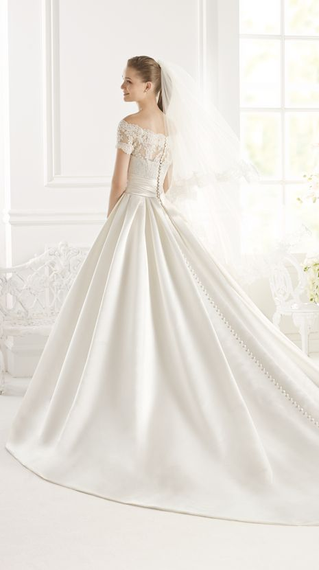 PASHENKA | Bridal Gowns | 2015 Collection | Avenue Diagonal (back)