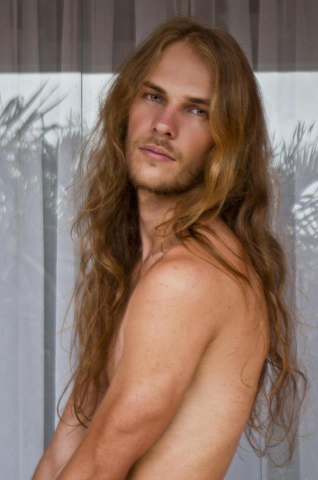Men with long hair fetish