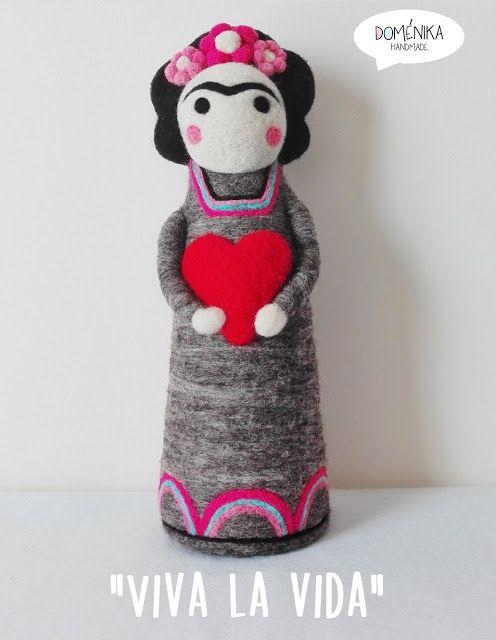 Doménika Handmade: Frida Kahlo