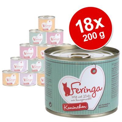 Prezzi e Sconti: #Feringa menù alla carne 18 x 200 g pollo  ad Euro 27.99 in #Feringa #Gatti cibo umido per gatti