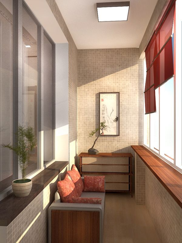 tiny balcony ideas. Your balcony can be a cozy space. Tile the entire wall, add a small couch for two with a few plants and some storage for your gardening stuff