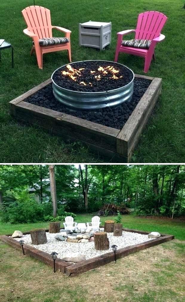 28 Beautiful Backyard Seating Area Design Ideas Backyard Fire Outdoor Fire Pit Backyard