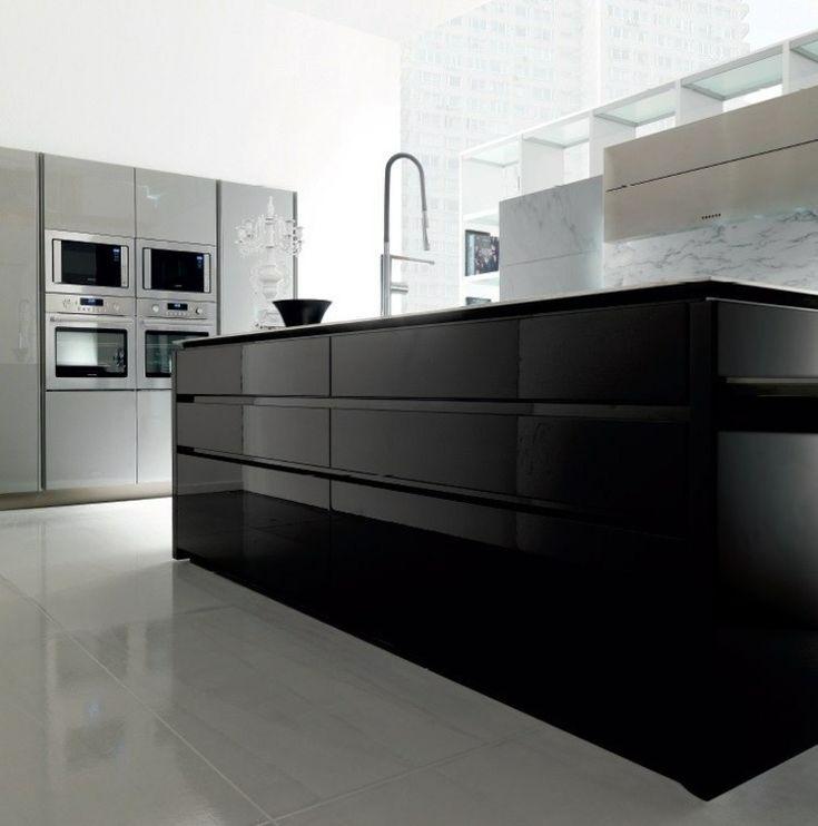 die besten 17 ideen zu kücheneinrichtung mit kochinsel auf, Wohnzimmer dekoo