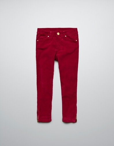 STRETCH CORDUROY TROUSERS - Girl - New this week - ZARA United States