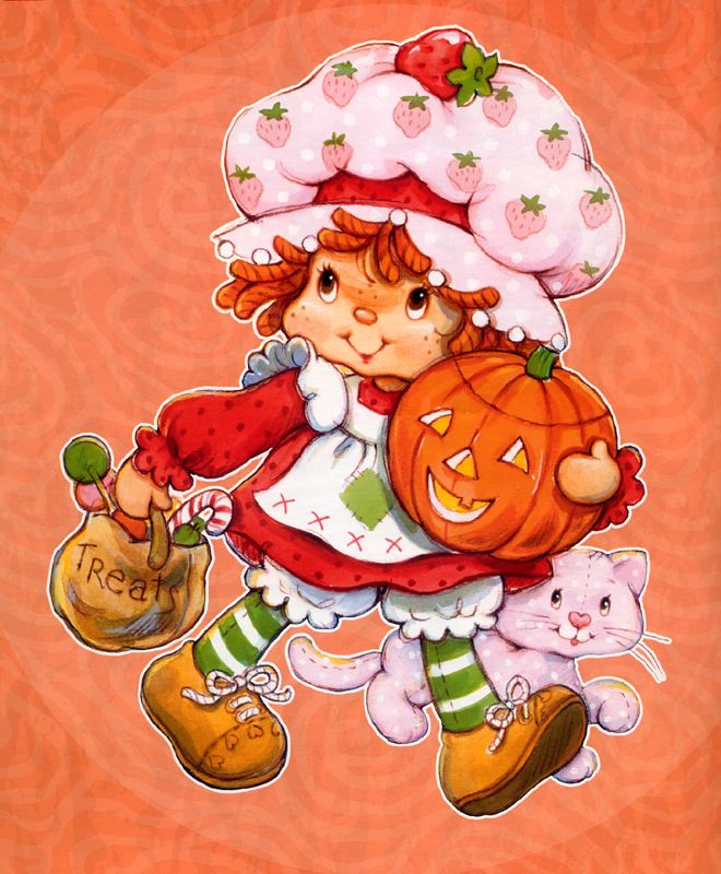 Strawberry Shortcake Halloween
