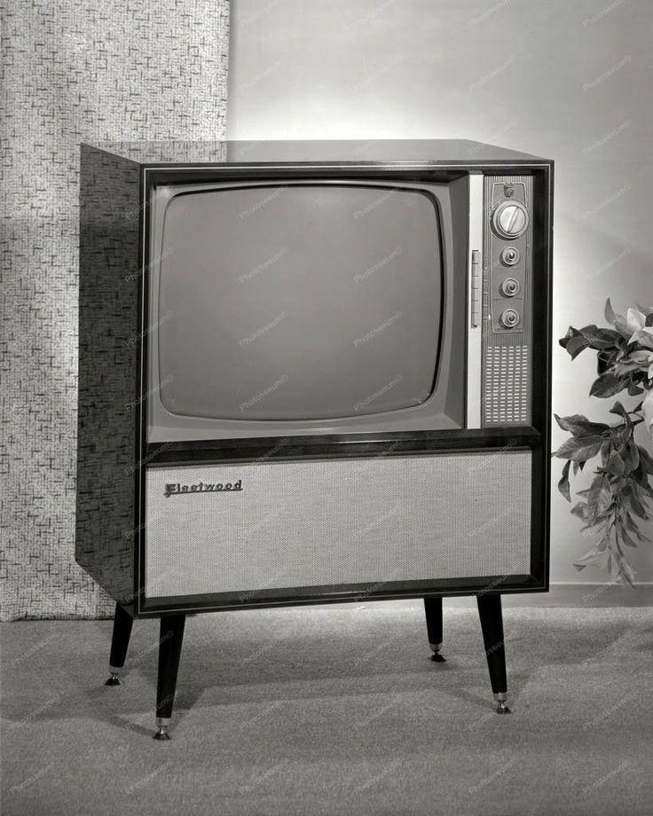 Fleet Wood Television Circa 1960 Vintage 8x10 Reprint Of Old Photo