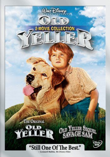 OLD YELLER: Directed by Robert Stevenson.  With Dorothy McGuire, Fess Parker, Tommy Kirk, Jeff York. A boy brings a yellow dog home. The dog loves the family as much as they love him, but can the love last ?