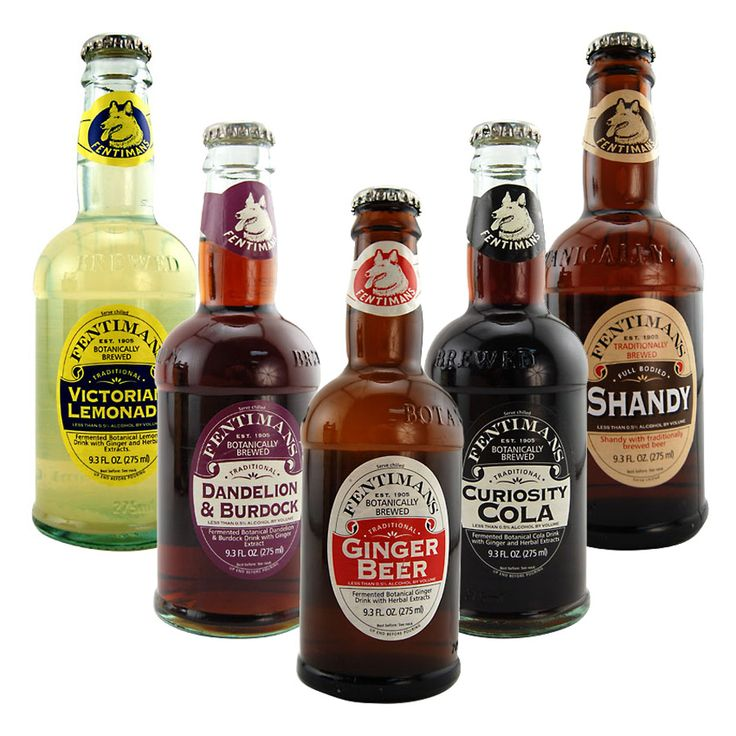 Fentiman's Sodas - Botanically Brewed Beverages - The Green Head