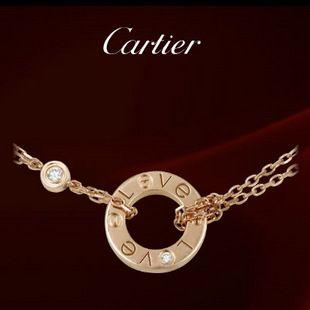 Cartier Pink Gold LOVE Bracelet with Diamond
