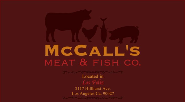 mccall's meat and fish