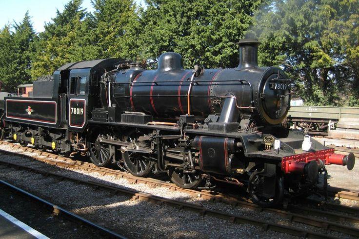 BR standard class 2  2-6-0