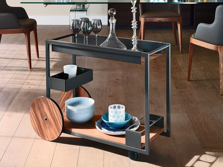 Cattelan Italia Brandy Bar Trolley by Studio Kronos - Chaplins