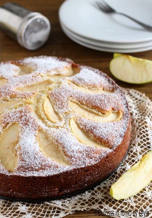Torta di mele e mascarpone Dulcisss in forno