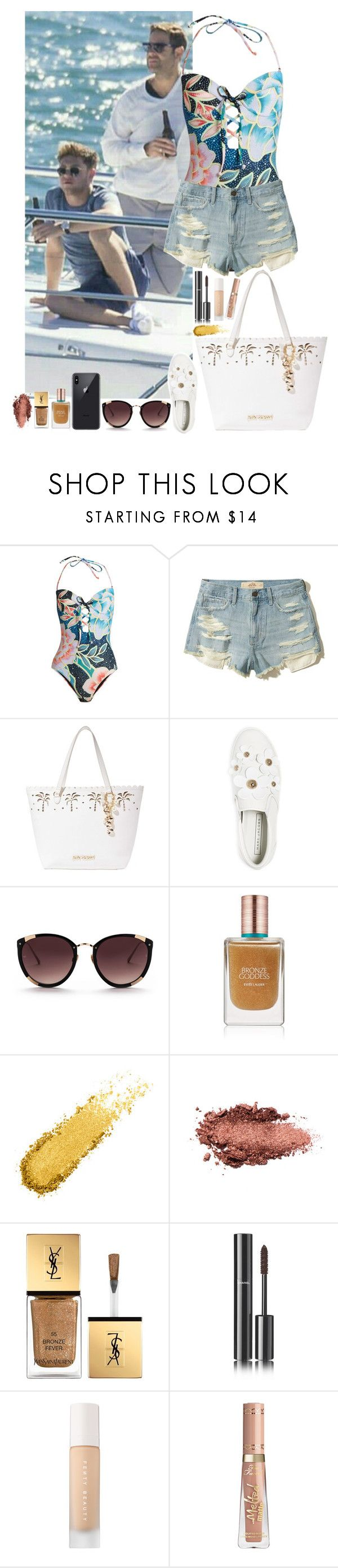 """""""Niall Horan #135"""" by ambere3love34 ❤ liked on Polyvore featuring Mara Hoffman, Hollister Co., Betsey Johnson, Marc Jacobs, Rebecca Taylor, Estée Lauder, Yves Saint Laurent, Chanel and Puma"""