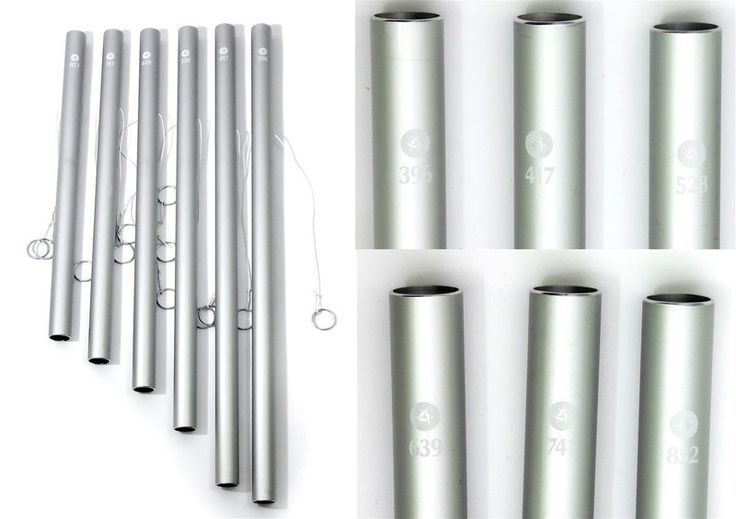 Yoga Mats & Equipment – Solfeggio Sound Pipes - set – a unique product by betulek on DaWanda