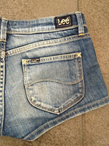 Ladies Lee SupaShort Denim Mini Shorts - Size 10 - Now Selling! Click through to go to eBay Auction!
