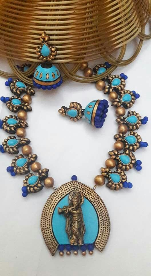 Real terracotta jewelry 3300/-