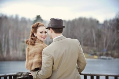 1940s Vintage Glam Engagement Shoot. You'll find the ideal setting for this at the @Riviera on Vaal Hotel & Country Club