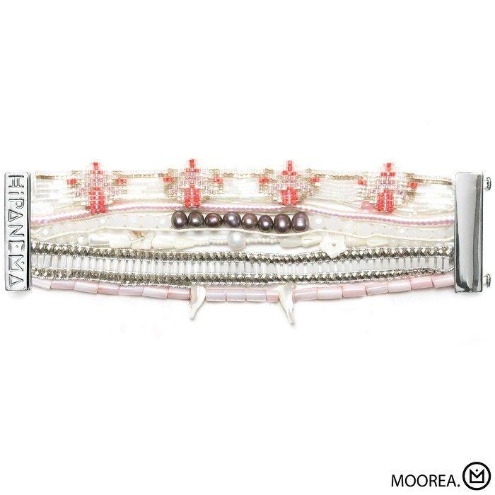 Bracelet Moorea Hipanema collection été 2015 - à retrouver sur www.lilishopping.com/fr/ - #bracelet #manchette #cuff #hipanema #summer