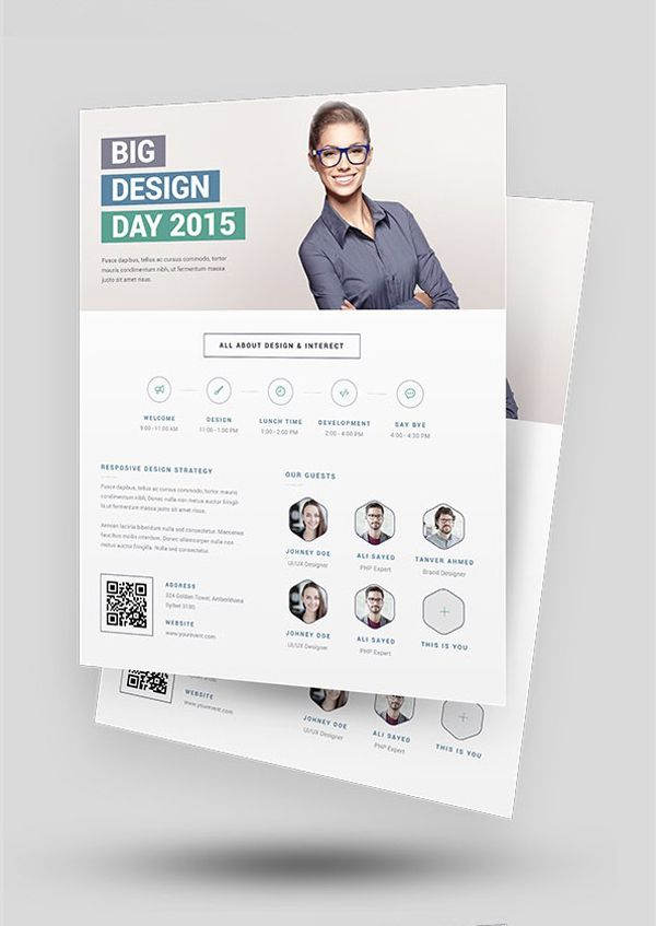 Best Graphic Design Flyers Images On   Graphic