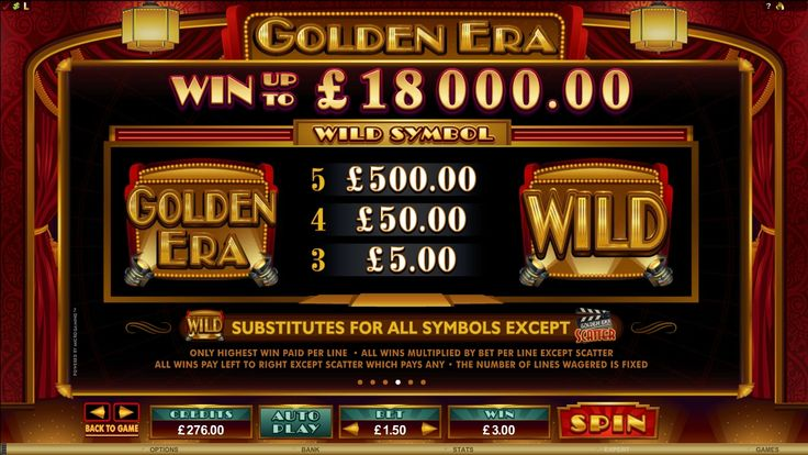 Golden Era online slot | Euro Palace Casino Blog
