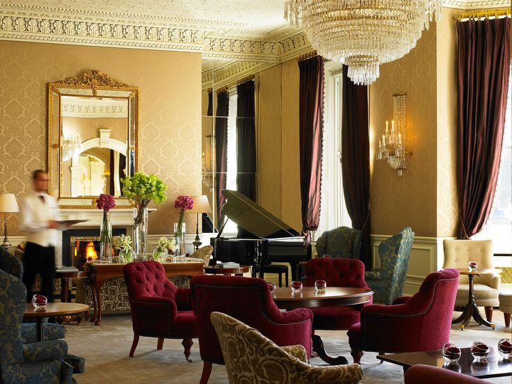 Shelbourne hotellin Lord Mayors Lounge © The Shelbourne Hotel