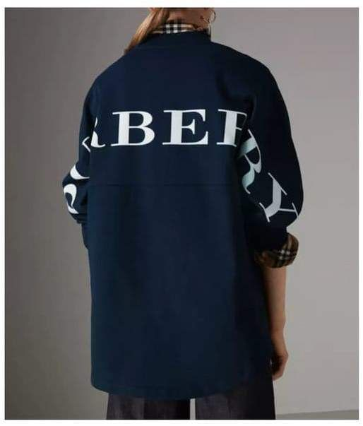 8e6c5e8f866 Burberry Logo Printed Cotton Oversized Sweatshirt 18797 #afflink ...