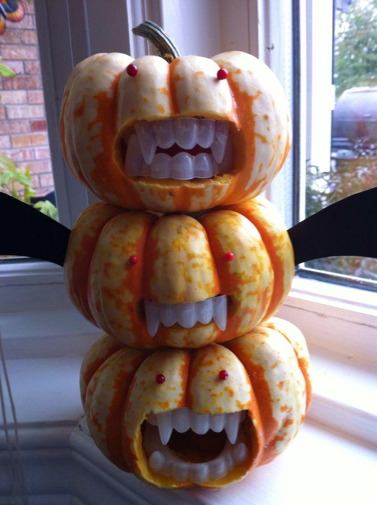 25 best ideas about vampire pumpkin on pinterest diy for Vampire teeth pumpkin stencils