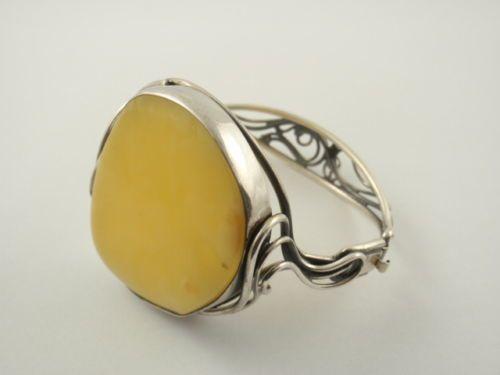 Obecnie na aukcjach #Catawiki: Sterling Silver & Baltic Amber Bracelet