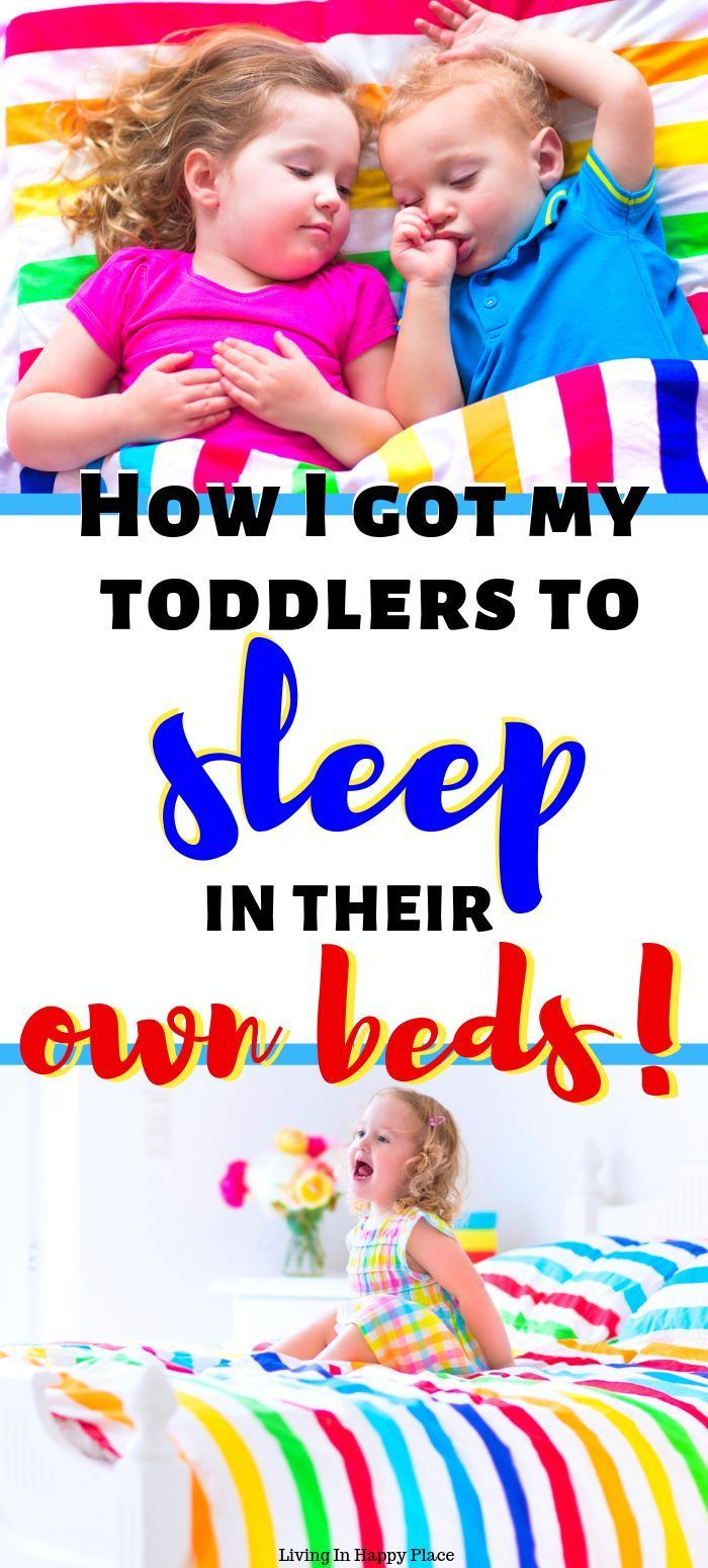 How to get toddlers or kids sleeping/transition in their ...