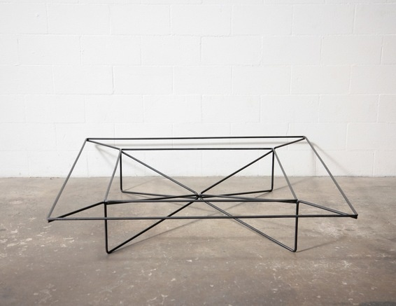 Large Wire Framed #Coffee Table Amsterdam Modern
