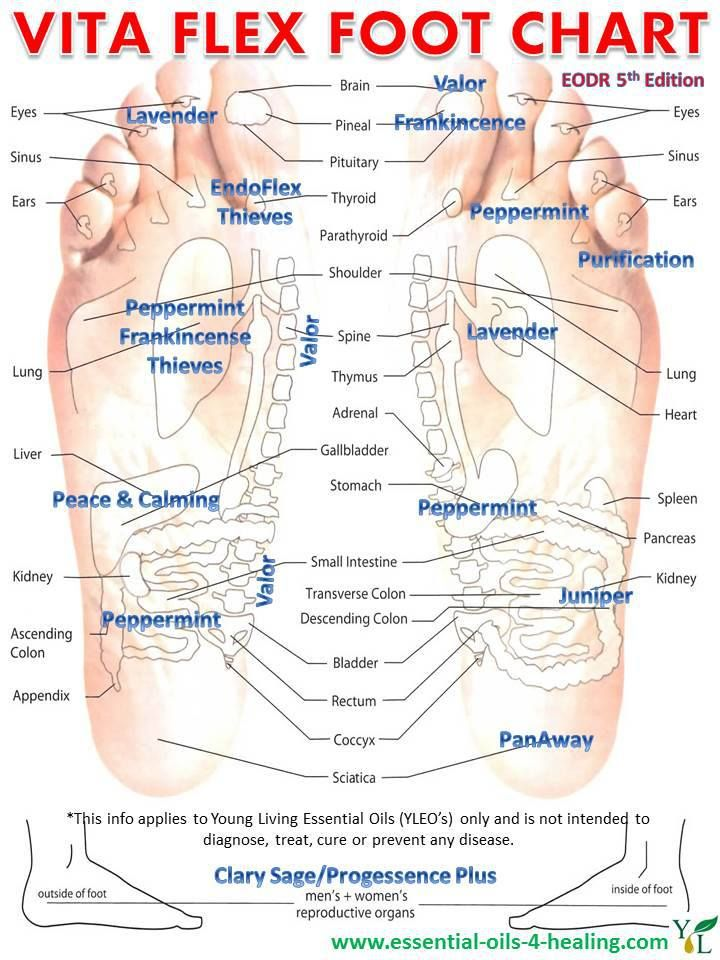 Did you know that you can stimulate greater health to your body by applying essential oils to the Vita Flex points of your feet? And even more so if you use the Pad-Tip-Nail technique (this helps to fire voltages along the nerve pathway). If you like acupuncture, try adding in some YL Essential Oils next time to improve the outcome.