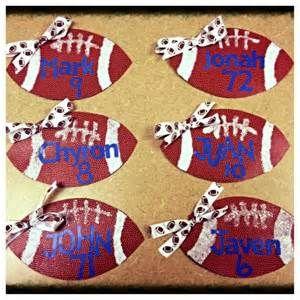 Football Locker Sign Ideas Locker decorations - football