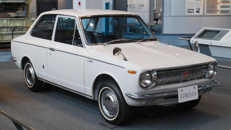Toyota Corolla KE-10 - pierwsza generacja Corolli z roku 1966