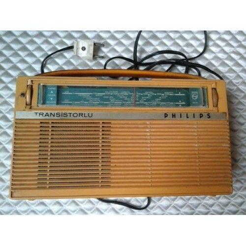 Eski philips radyo