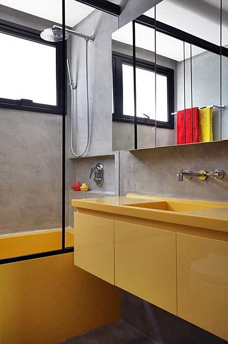 Banheiros e lavabos são áreas complicadas de projetar, reformar e manter limpos. Quando são pequenos, mais difíceis ainda!  Há dicas que,não importa o tamanho ou estilo do banheiro, é importante seguir.