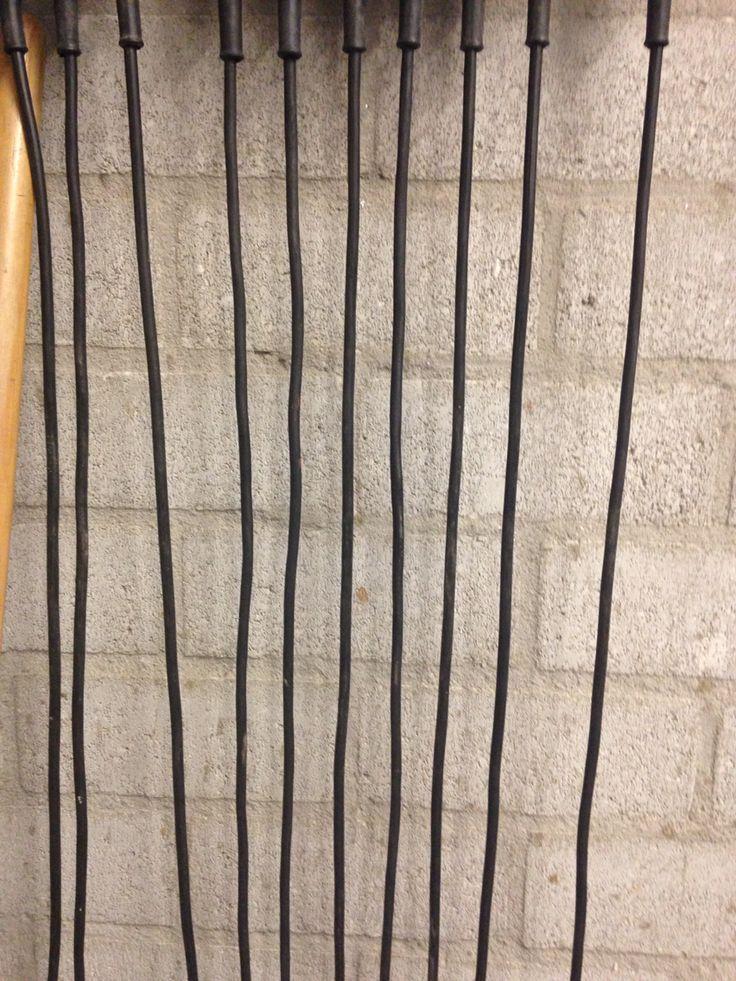 Lijnenspel van soldeerbout lijnen