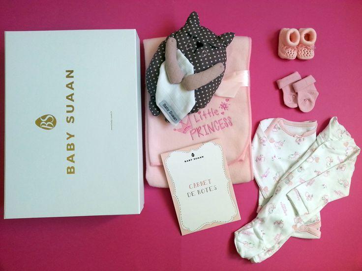 """Coffret naissance """"La petite Rose""""par Baby-suaan"""