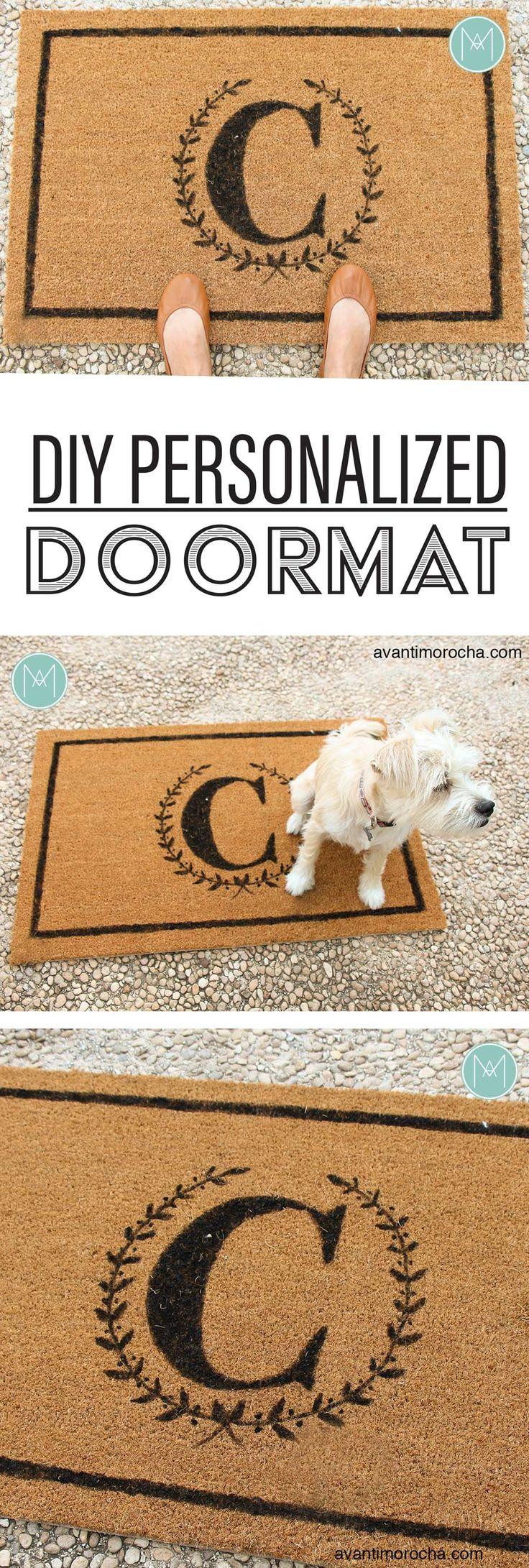 DIY Personalized Doormat –  Tapete personalizado / IKEA Trampa AvantiMorocha Blog