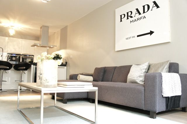 my new DIY project: a Prada Marfa sign