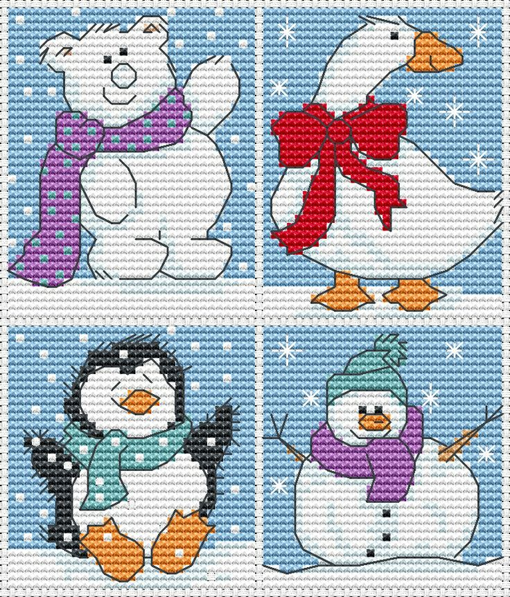 Christmas crossstitch from http://www.jbcrossstitch.com/christmas/307-cute-christmas.html
