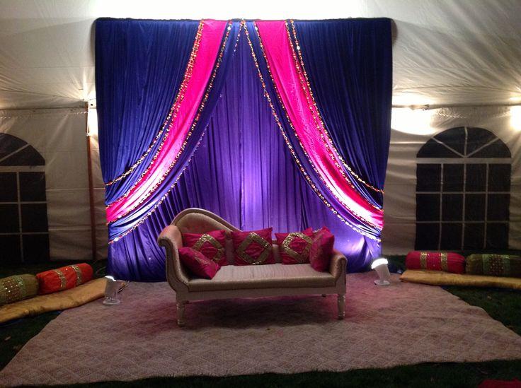 Alankar Decor For A Sangeet Wedding Desi