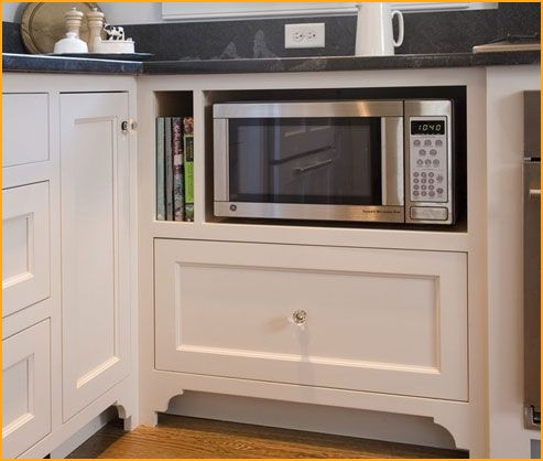 Countertop Microwave To Built In : 1000+ ideas about Microwave Oven on Pinterest Countertop Microwaves ...