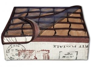 """Коробка для хранения """"Париж"""" с крышкой (25 ячеек) - МarafetiKo"""