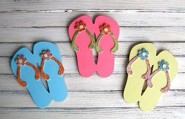17 best images about flip flop decor on pinterest for Flip flops for crafts