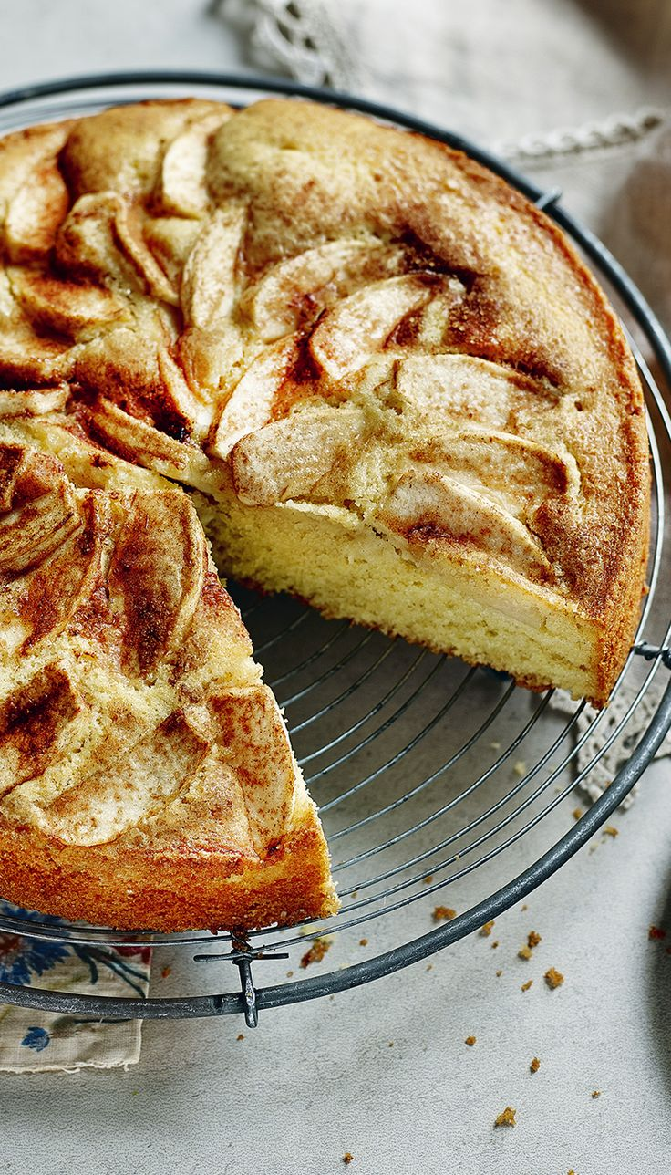 Rick Stein's apple cake doesn't need fancy decorations - and it's great with a cup of coffee.